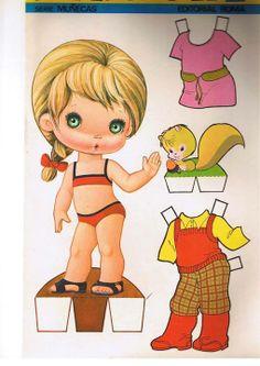Little girl paper dolls Victorian Dollhouse, Fun Crafts, Diy And Crafts, Paper Crafts, Paper Clothes, Paper Dolls Printable, Kawaii Doodles, Paper Animals, Reborn