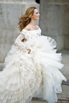 Ballerina bridal gown