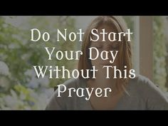 Pray This Powerful 3 Minute Prayer. Do you start your day right? For example to start your day you should eat a good breakfast so you will have energy for th. Daily Morning Prayer, Morning Prayers, Morning Quotes, Fathers Day In Heaven, Dad In Heaven, Prayers For Healing, Bible Prayers, Angel Prayers, God Prayer