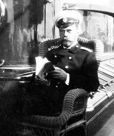 "Tsar Nicholas ll of Russia on board the Imperial Royal yacht,the Standart. ""AL"""