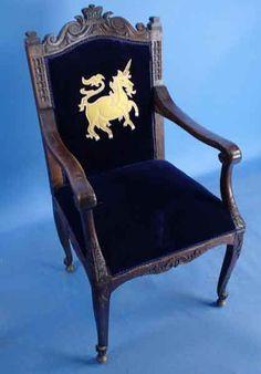 Antique Decorative English Oak Chair - English Classics