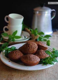 Cómo hacer brownie con 3 ingredientes y en 15 minutos Blondies, Food Truck, Baked Potato, Sweet Recipes, Entrees, Muffins, Deserts, Food And Drink, Appetizers