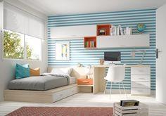 #Dormitorio #juvenil Ringo de Kibuc.