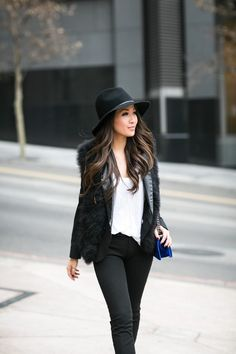 Simple Layers :: Feather vest & Cropped pants - Wendy's Lookbook - Fashionhyper