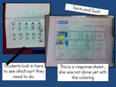how to differentiate and keep track of sorts...great post with lots of pics