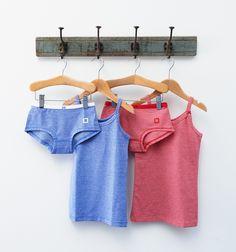 Nieuw ondergoed voor meisjes, met strikjes - Little Label