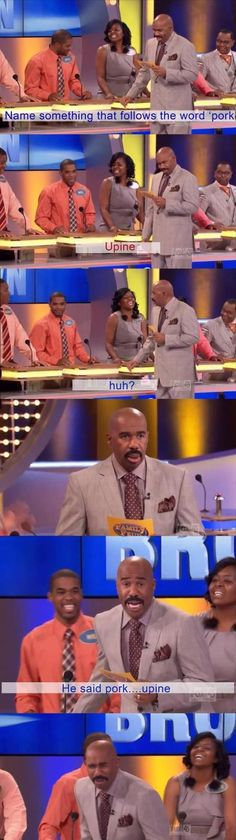 Love this this show! Steve Harvey is hilarious.