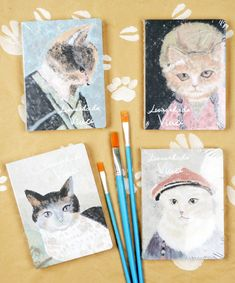 #cat #notebook #note #szputnyikshop Cute Notebooks, Booklet, Cute Animals, Funny Quotes, Notes, Cartoon, Cat, Collection, Pretty Animals