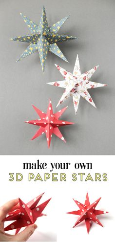 Learn how to make diy paper star christmas decorations diy papercrafts craft christmas holidays christmasdecorations holidaydecorations gatheringbeauty 496521927665792913 Diy Christmas Star, Christmas Origami, Simple Christmas, Handmade Christmas, Christmas Holidays, Christmas Ideas, Christmas Thoughts, Christmas Images, Merry Christmas