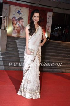 Saree or ghaghra? pretty it is whatever it is