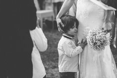 Tender moment between the bride and her son | Time of Joy Photography