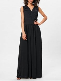 GET $50 NOW   Join RoseGal: Get YOUR $50 NOW!https://www.rosegal.com/maxi-dresses/surplice-neck-pleated-maxi-dress-2183965.html?seid=4695937rg2183965