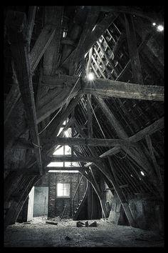 beautiful attic.