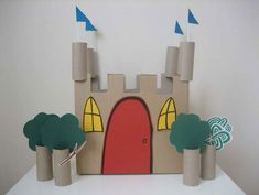 Castle craft for Jack and the Beanstalk