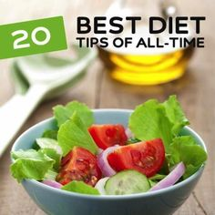 20 Best Diet Tips of All-Time for Healthy & Happy Weight Loss