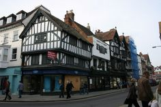 Haunch of Venison - oldest pub in Salisbury, U.K. - interesting history