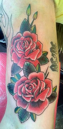 Roses / ACDC By Regis - Projeto Tattoo