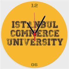 İstanbul Ticaret Üniversitesi - M3 - Kendin Tasarla - Duvar Saati 27cm