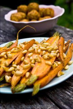 marchewki, karmelizowane, pini, dania główne, Carrots, Vegetables, Carrot, Veggies, Vegetable Recipes