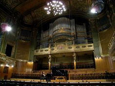 at the Liszt Academy of Music, Great Hall