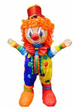 Custom handmade Clown Boy Pinatas / Casa Pinatas Party Store Indio CA. 92201