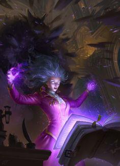 ArtStation - Sorceress, Elvira Shatunova
