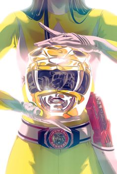 Mighty Morphin Yellow Ranger - Goni Montes
