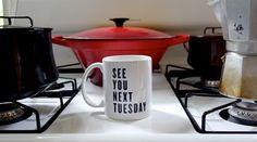 See You Next Tuesday  / C*NT mug / rude mug / Typography /  Swearing / Naughty mug / birthday / rude quote /  funny quote / naughty gift