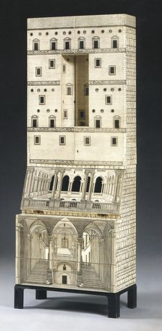 FORNASETTI - Architettura - Piero Fornasetti & Giò Ponti - 1955