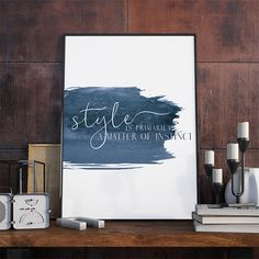 Wandkunst Mode Fashion Print Typografie Print Wall von DashofSummer