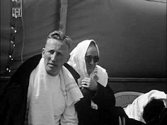 Reinhard Heydrich at the fencing competitions.