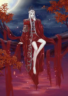 枫染红尘叹离殇