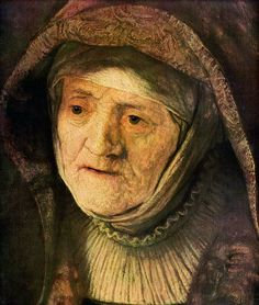 Portrait of Rembrandt`s mother, Rembrandt van Rijn (Dutch, 1606–1669).