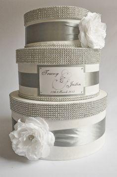Card box / Wedding Box / Wedding money box 3 tier by DiamondDecor, $89.00