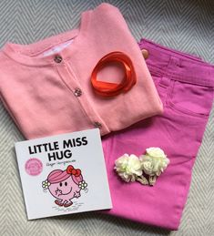 5 DIY kids outfits for World Book Day featuring favourite Mr Men & Little Miss characters.