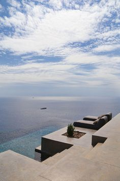 A Pair of Summer Houses on Syros, Greece by Block722 Architects | http://www.yatzer.com/syros-block722-architects