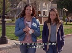 Gilmore Girls Cast : Alexis Bledel Lauren Graham Scott Patterson Kelly Bishop Keiko Agena Melissa McCarthy L. Tv Show Quotes, Film Quotes, Funny Movie Quotes, Favorite Movie Quotes, Citations Film, Movie Lines, Reaction Pictures, Mood Quotes, Movies Showing
