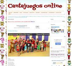 La página que tiene todas las canciones de los Cantajuegos.