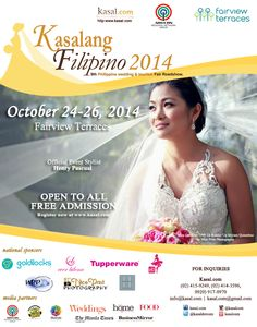 Filipino Wedding, Wedding Fair, Terraces, Manila, Regional, Exhibit, Tourism, October, Stylists