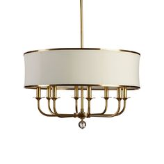 "Zoe Eight-Light Brass Chandelier - Ethan Allen US Zoe Eight-Light Brass Chandelier $699.00 Now $629.10 In-Stock Dimensions: 28""dia. x 38""h Item#: 093702"