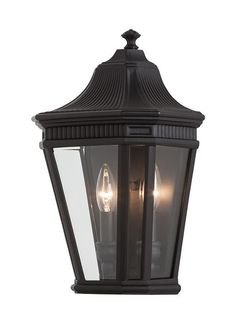 Acclaim 5413BK New Orleans Collection 3Light Wall Mount Outdoor