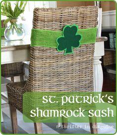 """Patrick/'s Chapeau Vert Lucky Clover Garden Flag Home Decor yard Banner 12X18/"""" St"""