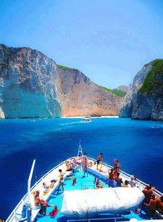 Navagio beach in Zakynthos island, Go Greece - wishlist!