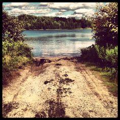 #puremichigan waters, michigan. Fiance's cabin