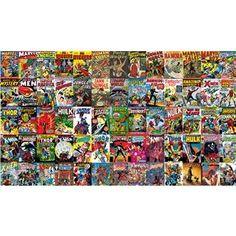 Marvel Comic Wall Mural- RoomMates