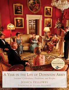 A Year in the Life of Downton Abbey: Seasonal Celebrations, Traditions, and Recipes Hardcover – October 2014 by Jessica Fellowes (Author), Julian Fellowes (Foreword) Downton Abbey, Jane Austen, La Florentine, Brendan Coyle, Julian Fellowes, The Great, Seasonal Celebration, Lady Mary, Charades