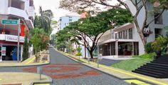 Barrio Granada en Cali Granada, Cali, Sidewalk, The Neighborhood, Countries, Fotografia, Grenada, Walkways, Pavement