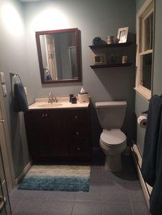 DIY bathroom reno complete :)
