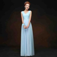 Cheap Dresses For Wedding Party - Wedding and Bridal Inspiration Cheap Long Dresses, Cheap Bridesmaid Dresses Online, Prom Dresses, Formal Dresses, Chiffon Evening Dresses, Chiffon Dress, Dress Attire, Wedding Party Dresses, Floor