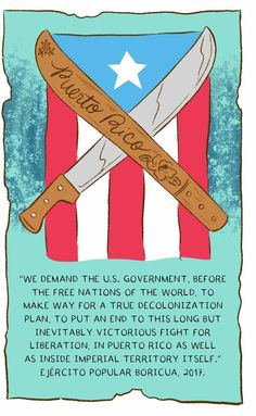 Ever since the Spanish arrived on Borikén in the century, the Puerto Rican people have resisted colonial powers. Puerto Rican Power, Puerto Rican People, Puerto Rico Tattoo, Puerto Rican Culture, Puerto Rico History, Protest Art, Art Painting Gallery, Marquesan Tattoos, Pintura